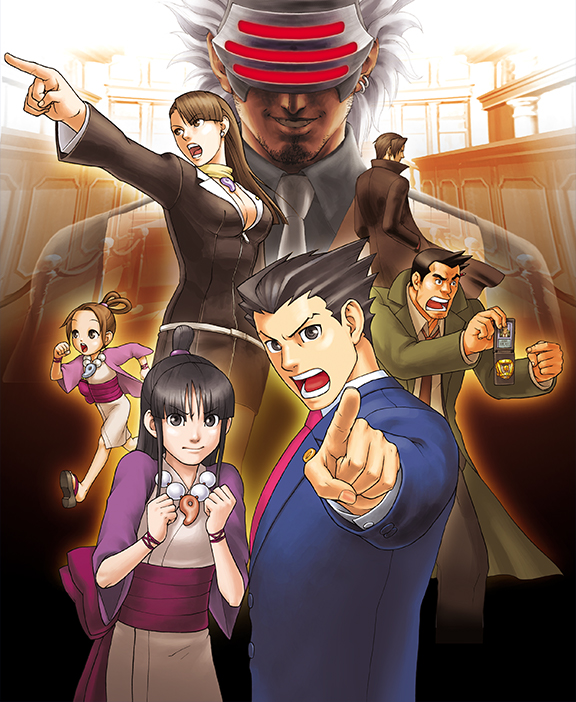 Capcom Phoenix Wright Ace Attorney Trilogy Official Website